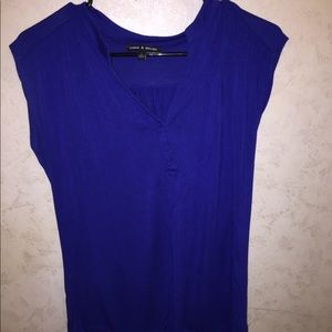 Cable and Gauge sleeveless top
